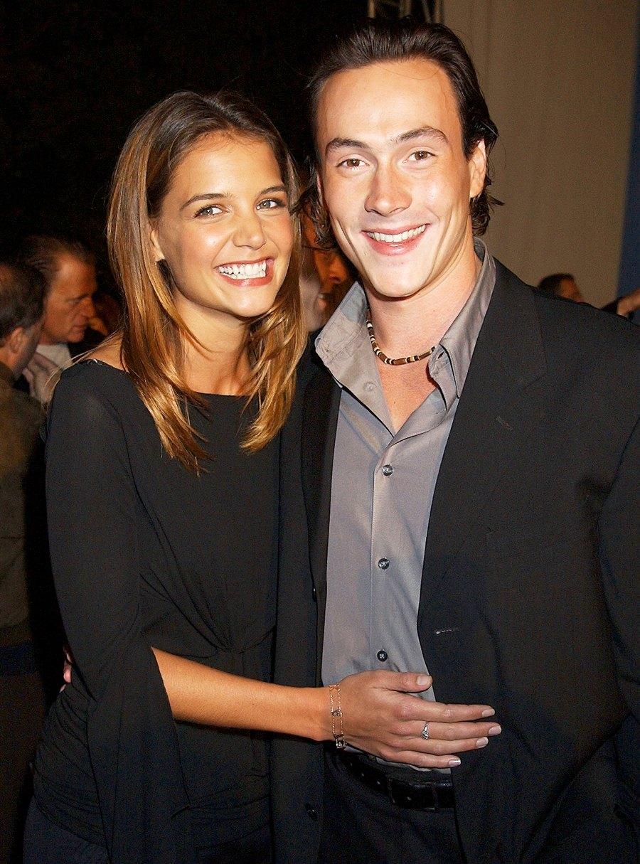 Katie Holmes and Chris Klein