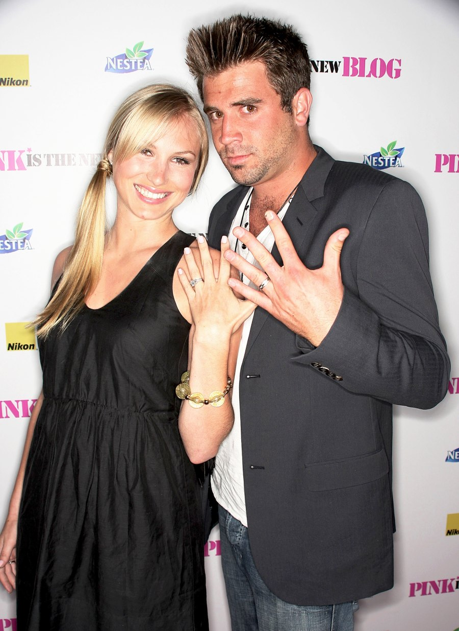 Jason Wahler and Katja Decker Sadowski