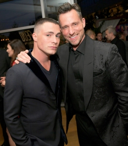 Colton Haynes and Jeff Leatham attend FX Networks 2017 celebration of their Emmy nominees at Craft in Century City, California.