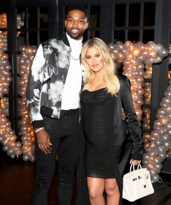 Tristan Thompson and Khloe Kardashian celebrates Tristan Thompson's Birthday at Beauty & Essex on March 10, 2018 in Los Angeles, California.