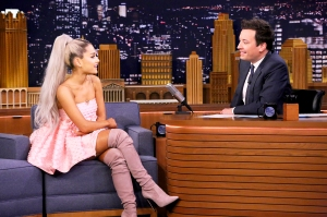 Ariana Grande on 'The Tonight Show Starring Jimmy Fallon'