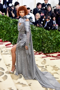Zendaya attends the Heavenly Bodies: Fashion & The Catholic Imagination Costume Institute Gala at The Metropolitan Museum of Art on May 7, 2018 in New York City.