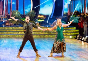 Tonya Harding and Sasha Farber on 'Dancing With The Stars'