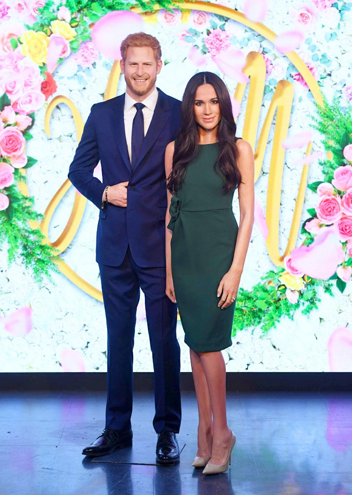 Madame Tussauds unveils a wax figure of Meghan Markle at Madame Tussauds London on May 9, 2018 ahead of her wedding to Prince Harry.
