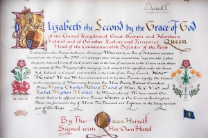 The Queen's Instrument of Consent