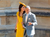 George Clooney and Amal Clooney Royal Wedding Gallery