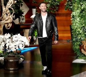 Adam Levine on The Ellen DeGeneres Show