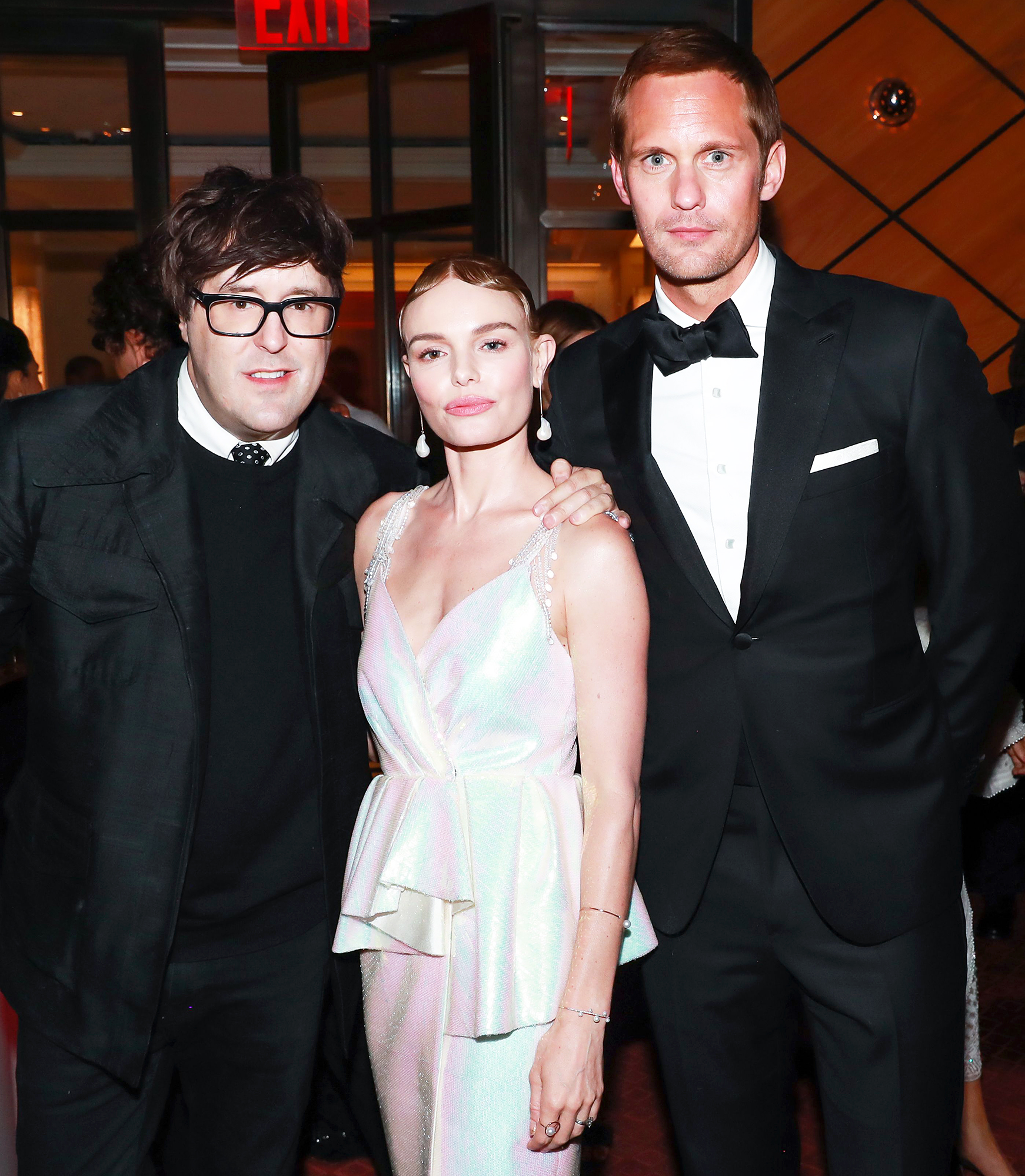 Kate Bosworth Alexander Skarsgard Met Gala 2018