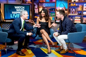 Priyanka Chopra and Sebastian Stan on 'Watch What Happens Live with Andy Cohen'