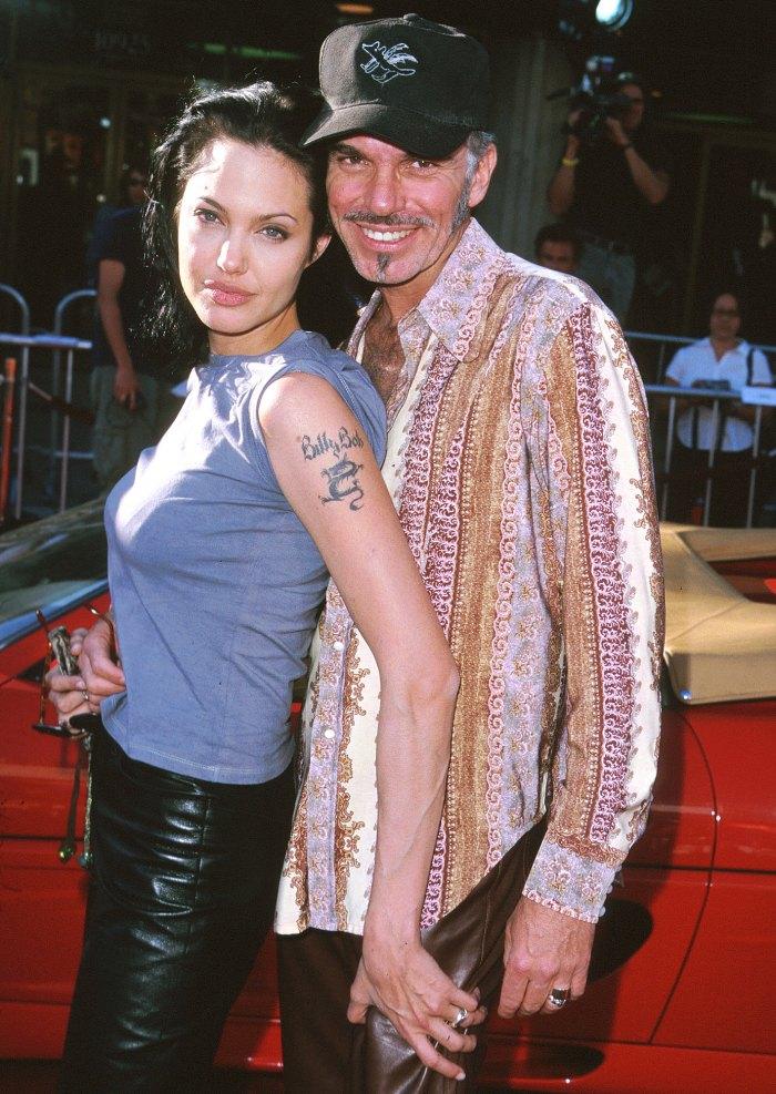 Angelina jolie sex partners
