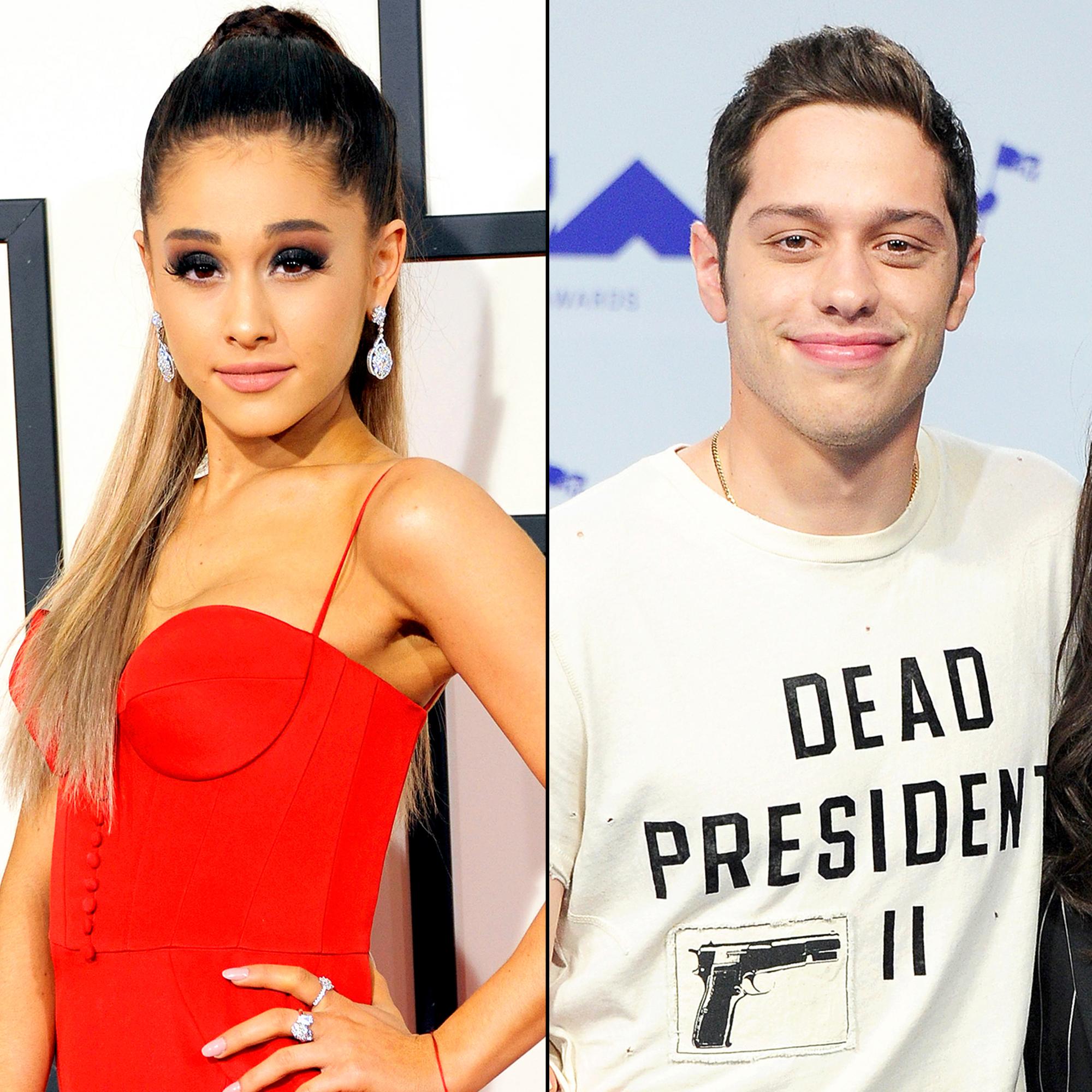 Ho on dating Ariana Grande