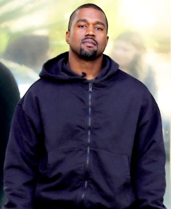 Kanye West arrives at his office on November 29, 2017 in Calabasas, California.