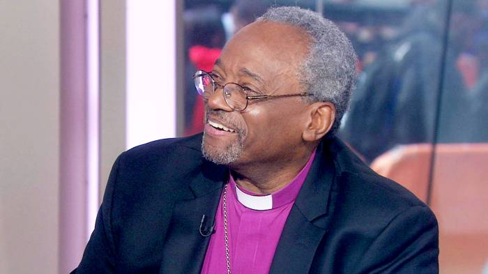Bishop Michael Curry on 'Today' show