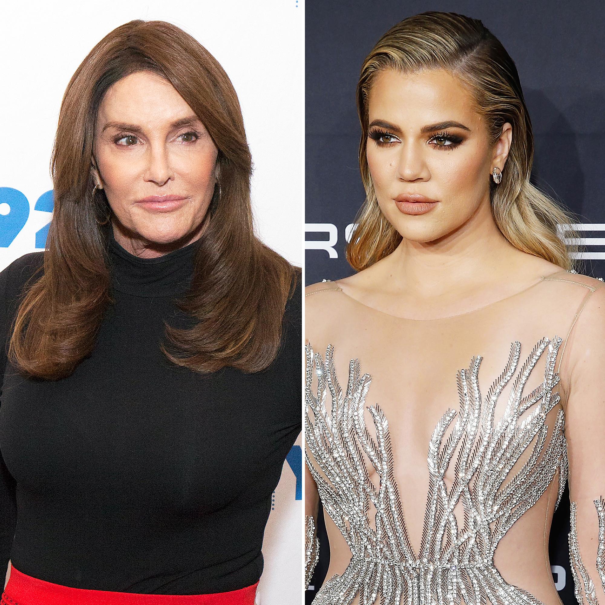 Caitlyn and Kris Jenner Unintentionally Match in Identical White BandageDresses