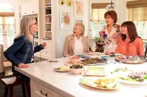 Candice Bergen, Jane Fonda, Diane Keaton, and Mary Steenburgen in 'Book Club'