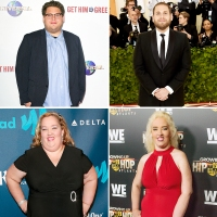 celeb weight loss transformations