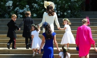 prince george and princess charlotte royal wedding