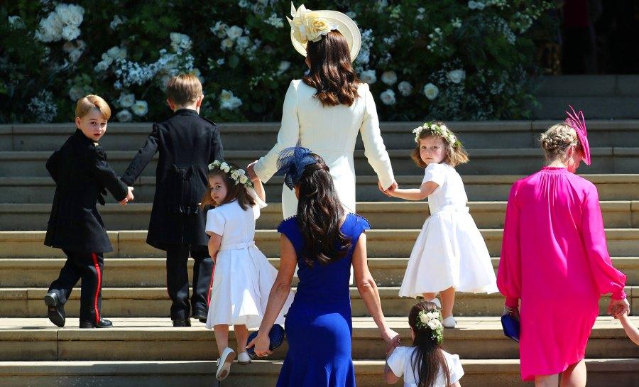 prince george and princess charlotte royal wedding