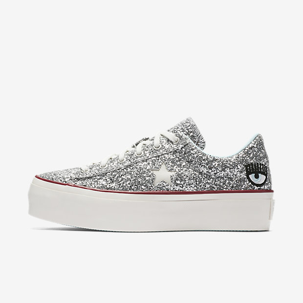 6ea68060ea2c Shop All the Glittery Sneaker Styles From the Converse x Chiara ...