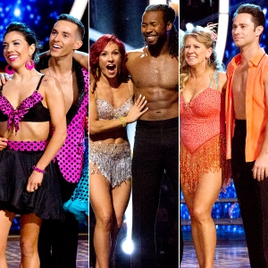The six remaining athletes on Dancing With The Stars: Athletes