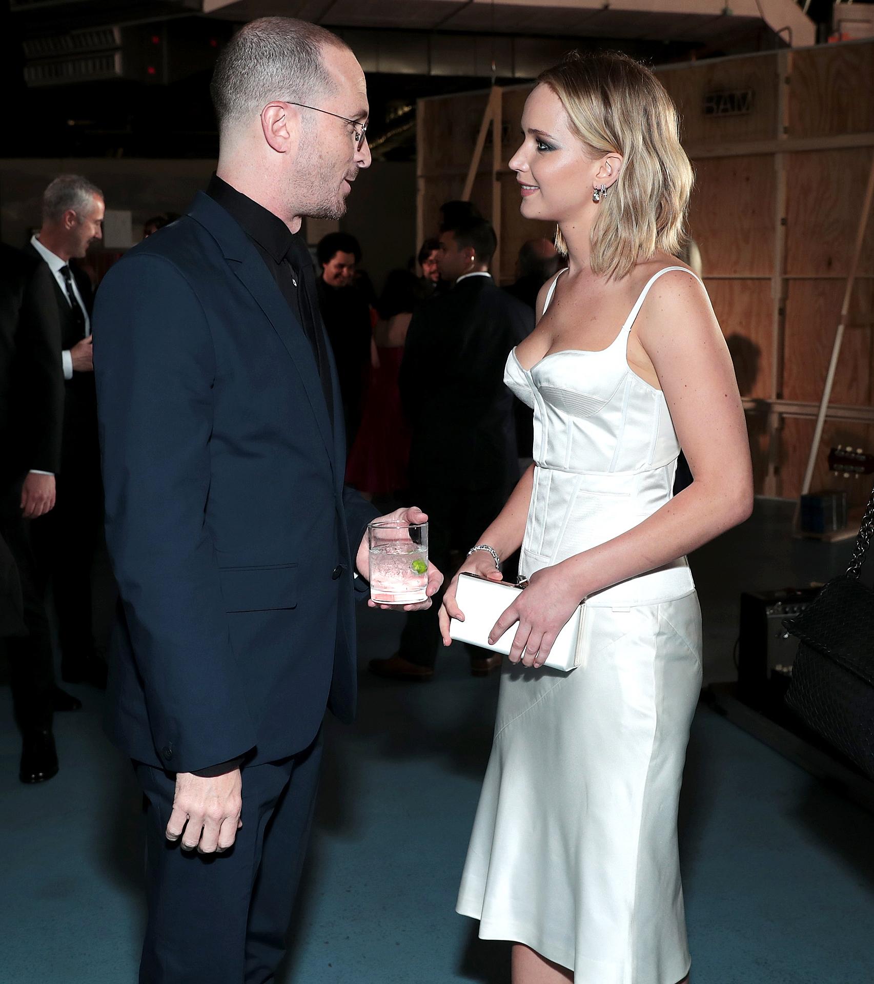 Darren Aronofsky Jennifer Lawrence BAM Gala 2018