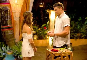 Kristina and Dean on Bachelor In Paradise