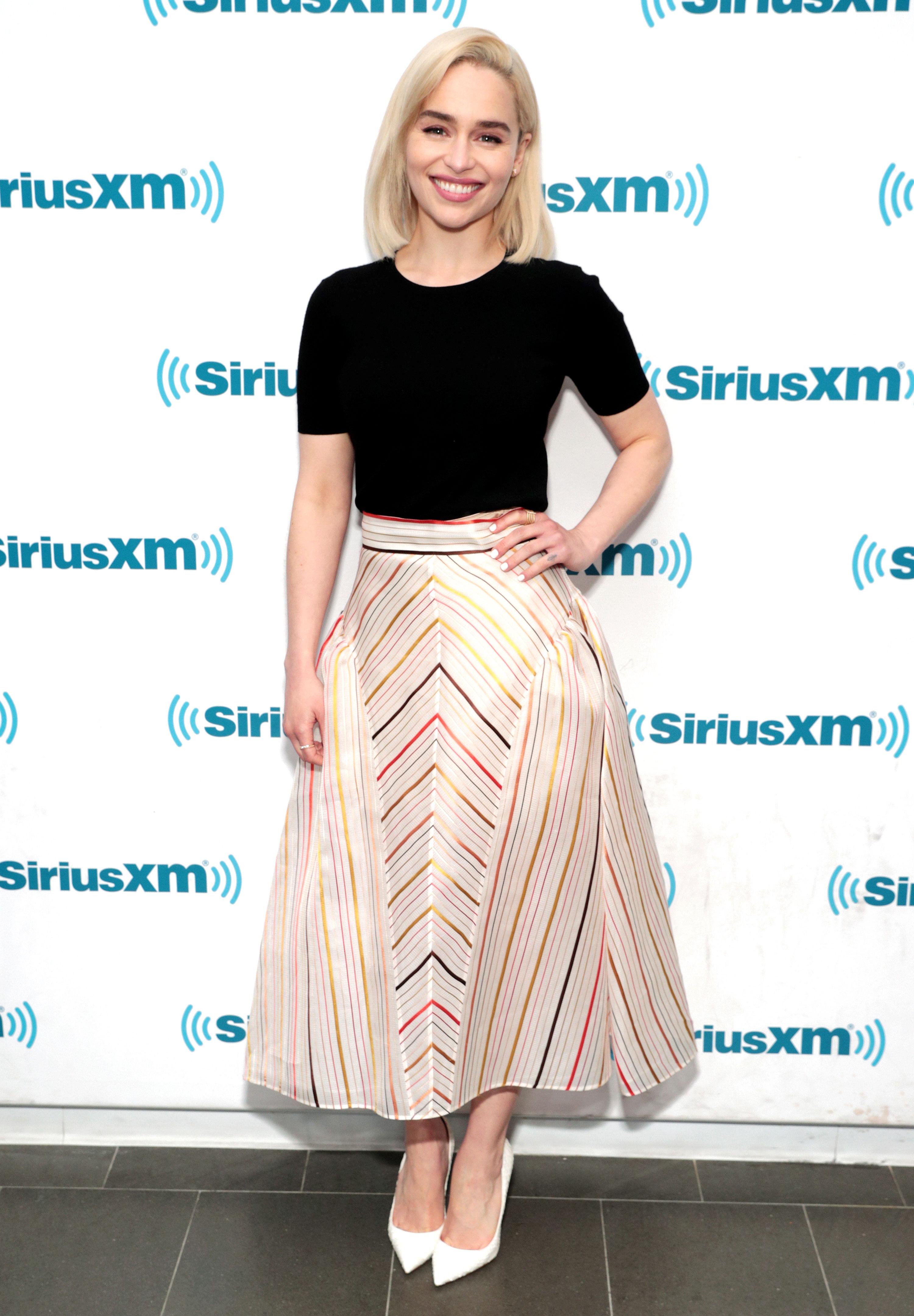 a35b3614fc Emilia Clarke s Best Dresses and Outfits  Pics