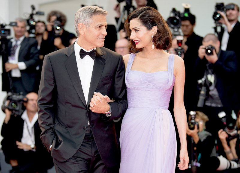 Everything We Know George and Amal Clooney Have Said About Parenthood George-clooney-amal-clooney-11