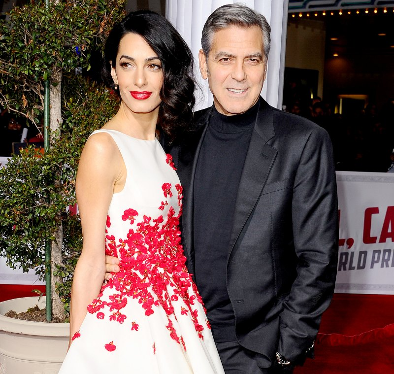 Everything We Know George and Amal Clooney Have Said About Parenthood George-clooney-amal-clooney-2