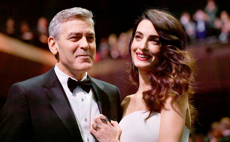 Everything We Know George and Amal Clooney Have Said About Parenthood George-clooney-amal-clooney-4