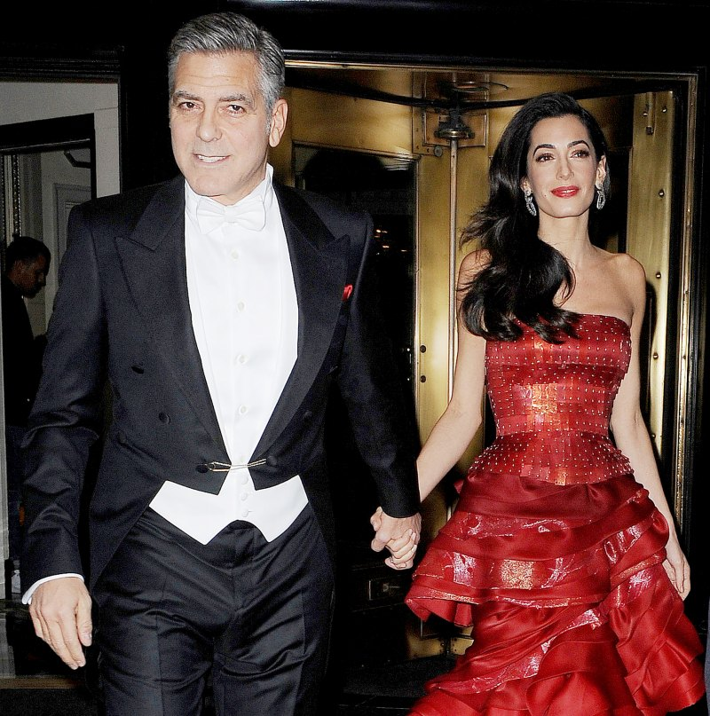Everything We Know George and Amal Clooney Have Said About Parenthood George-clooney-amal-clooney-5