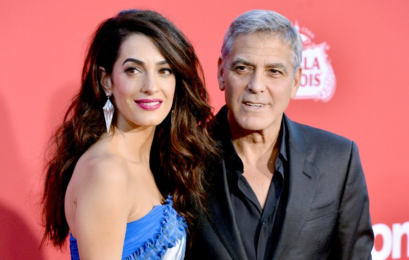 Everything We Know George and Amal Clooney Have Said About Parenthood George-clooney-amal-clooney-6