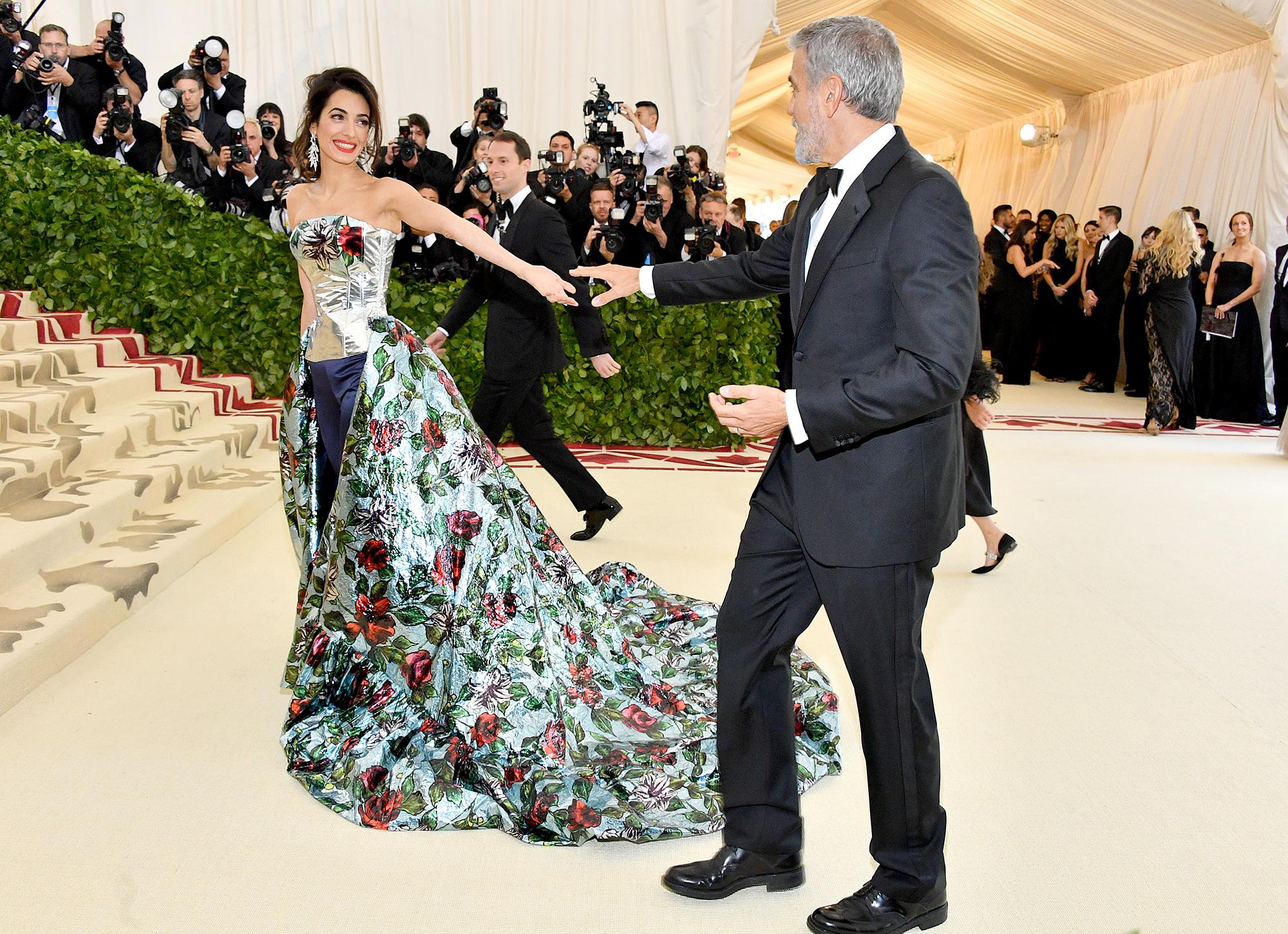 Amal Clooney George Clooney Met Gala 2018