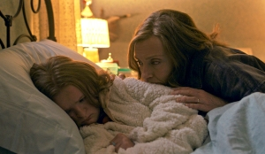 Milly Shapiro and Toni Collette in Hereditary