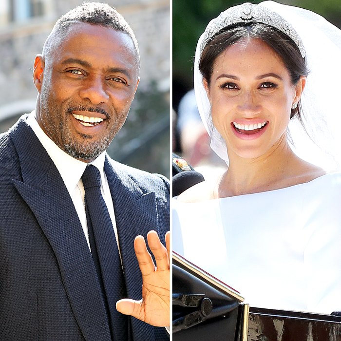Idris Elba and Duchess Meghan