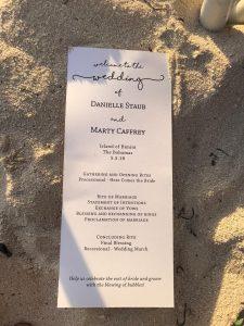 Danielle Staub and Marty Caffrey's wedding