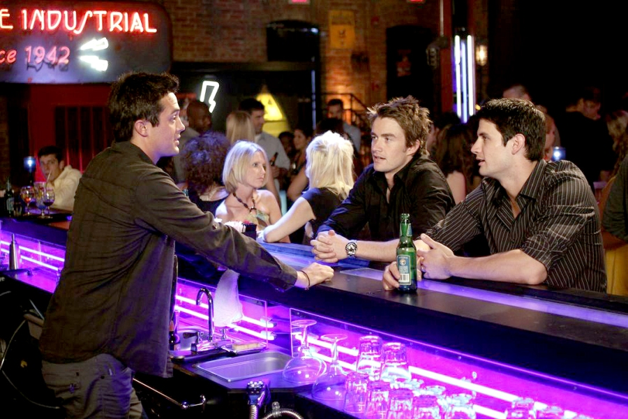 Stephen and James on One Tree Hill