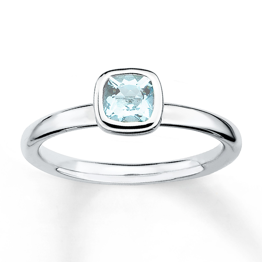 Aquamarine Rings Inspired by Meghan Markles Wedding Reception Style