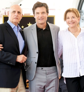 Jeffrey Tambor, Jason Bateman, and Jessica Walter