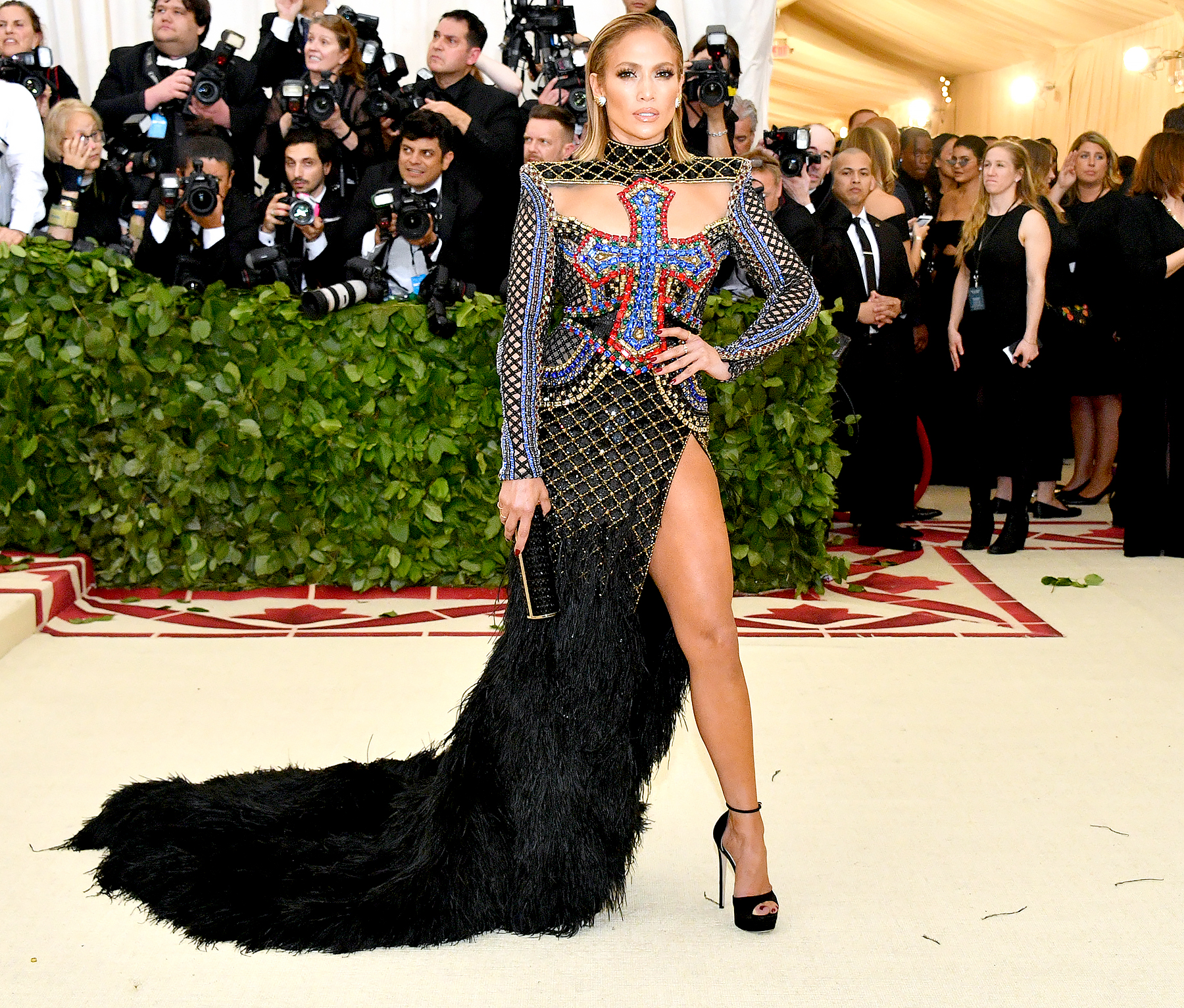 met gala 2018 best dressed stunning red carpet gowns dresses