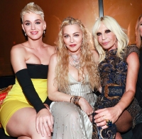 Katy Perry Madonna Donatella Versace Met Gala 2018 Afterparty