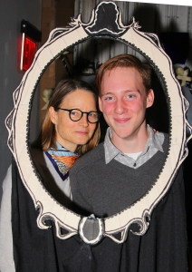 Jodie Foster and son Charlie Foster