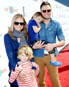 Joel-McHale-family