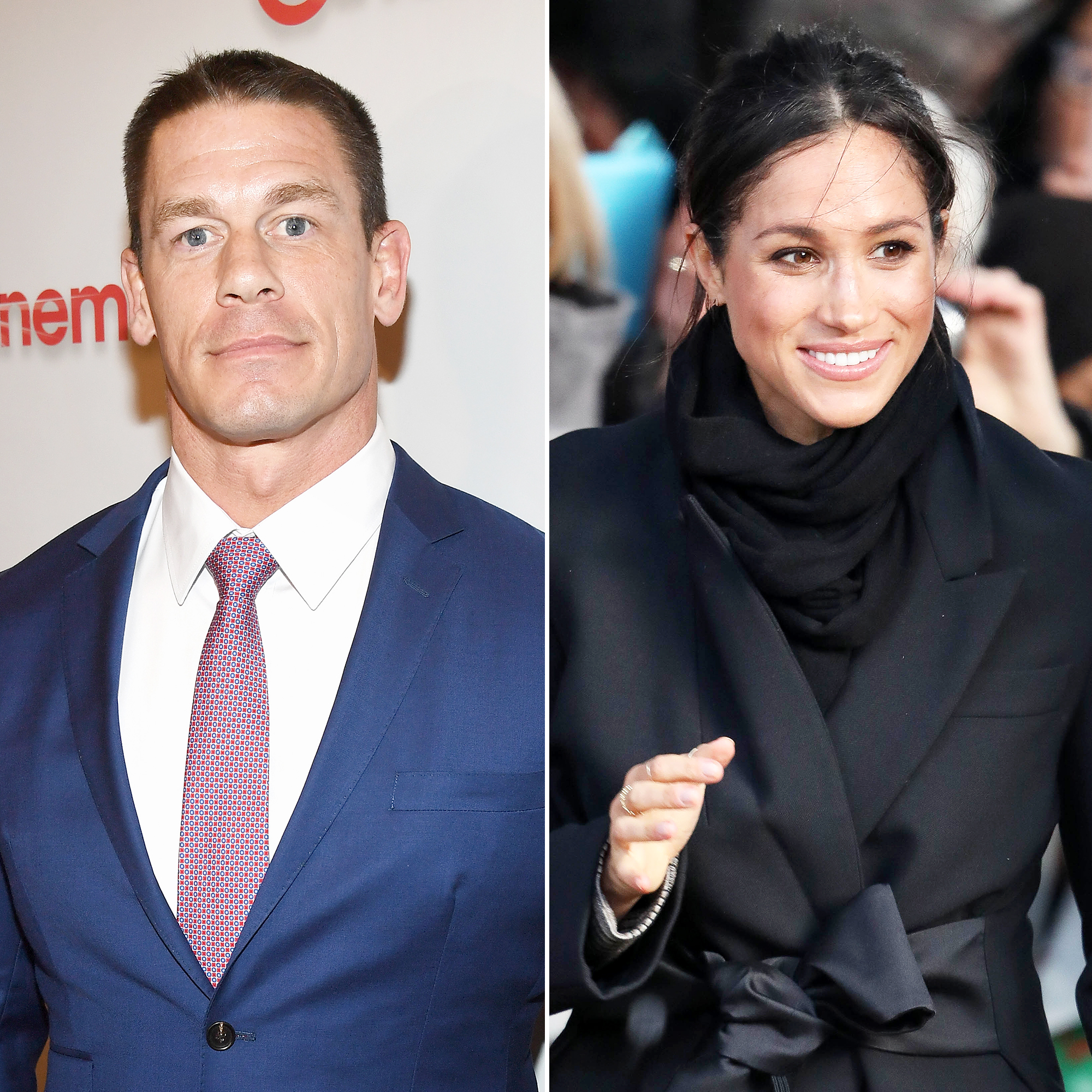 John Cena Offers to Walk Meghan Markle Down the Aisle at Royal Wedding