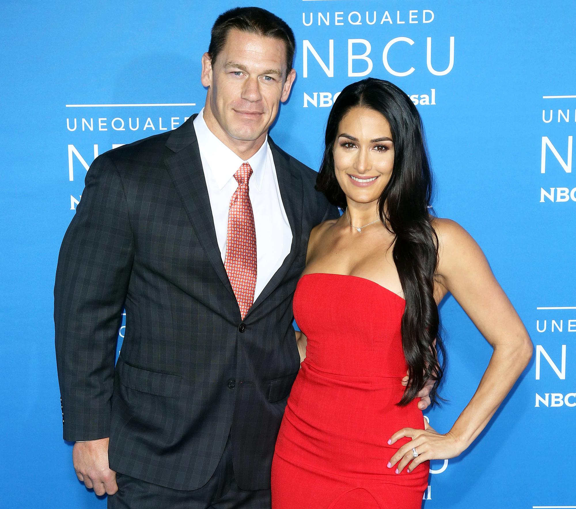 John Cena Nikki Bella Concerned