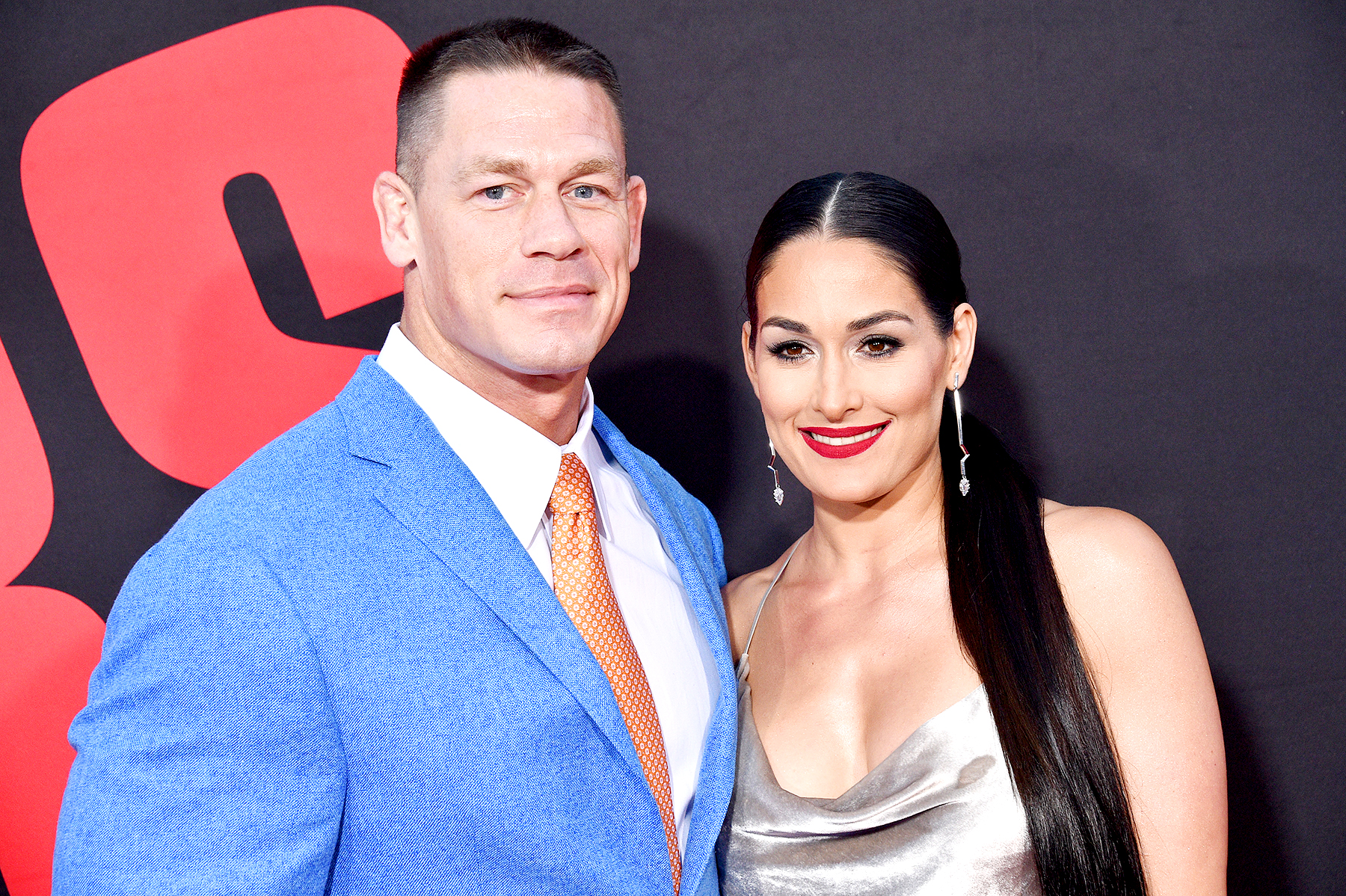 John Cena and Nikki Bella Lionel Hahn  AbacaUSA