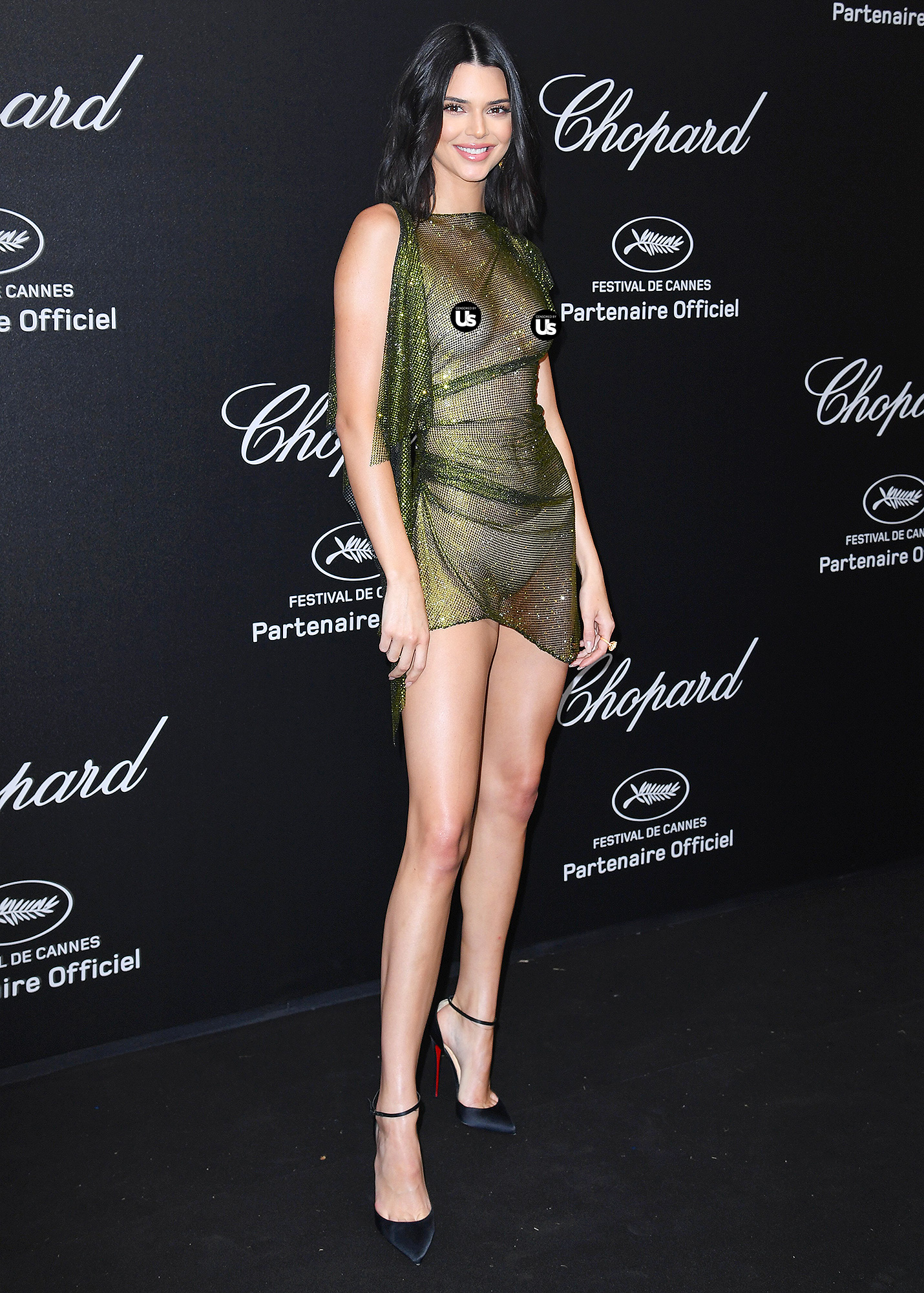 Kendall Jenner Bares Nipples In See Through Dresses At Cannes Pics