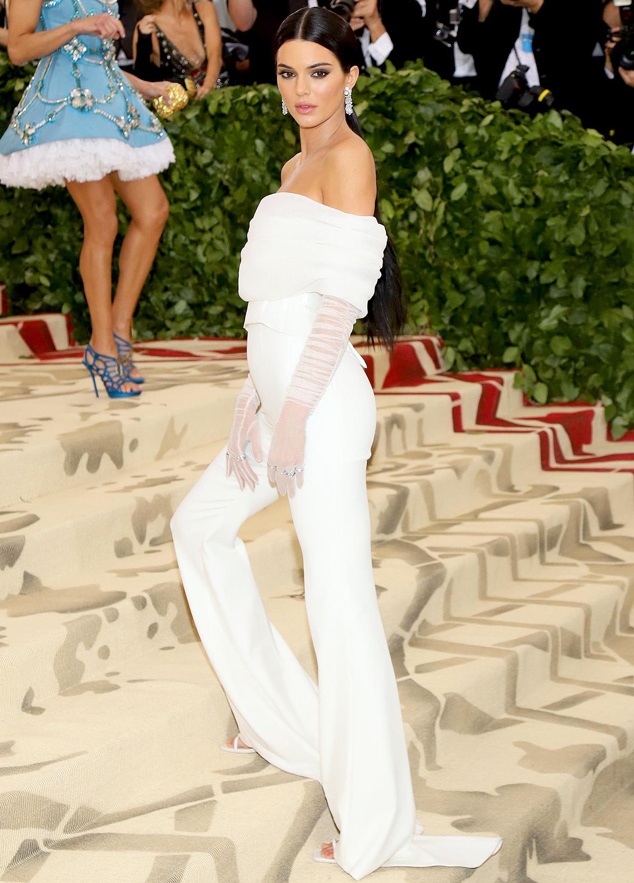 f8d313a66e7 Kendall Jenner's Best Red Carpet Fashion: Dresses, Suits, Pants
