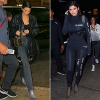 Kendall and Kylie Jenner NYC Met