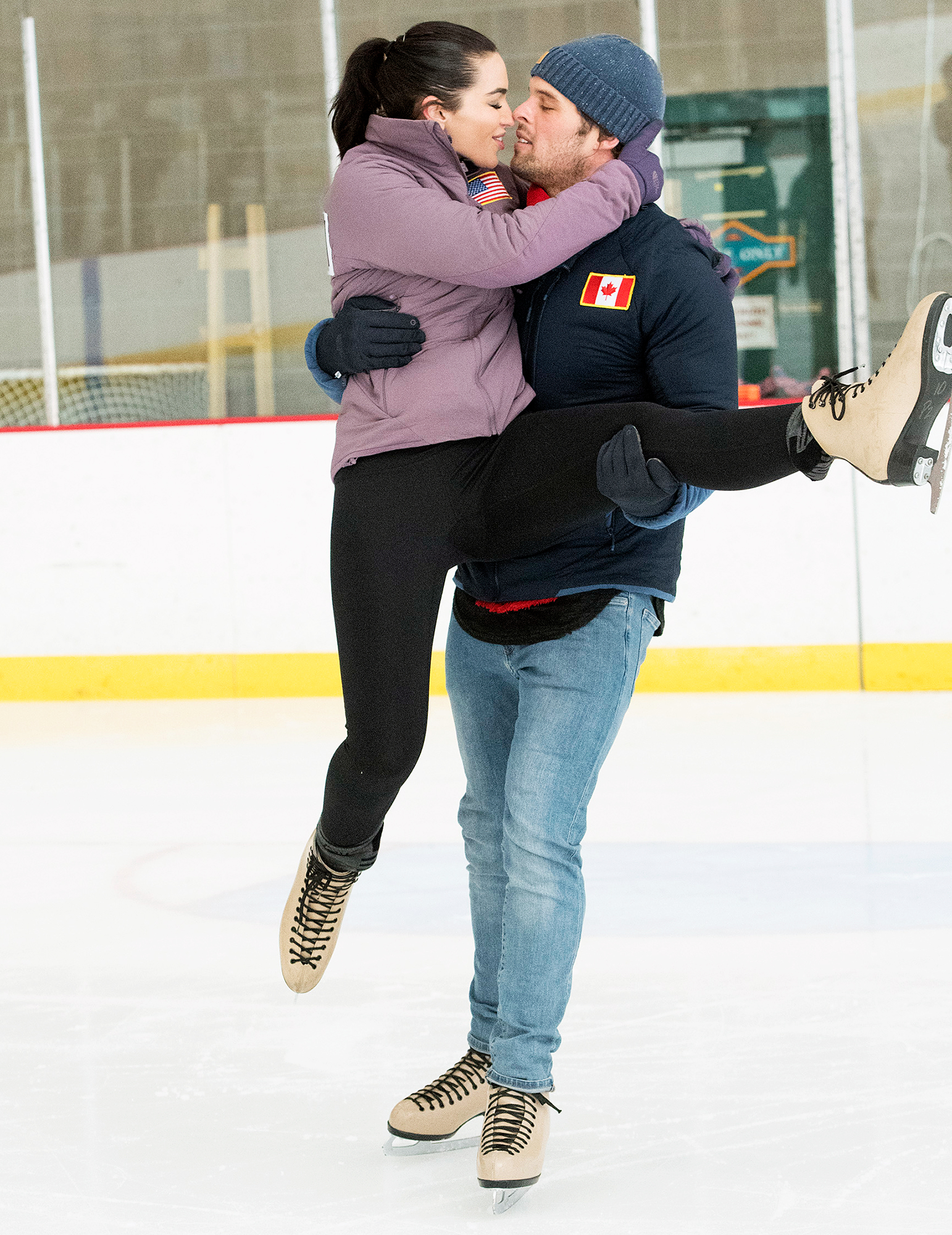 Ashley Iaconetti Kevin Wendt The Bachelor Winter Games